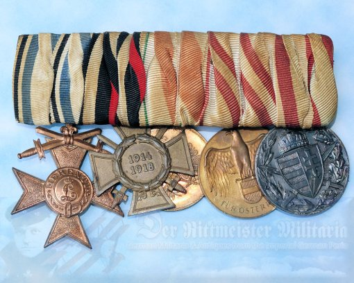 GERMANY - MEDAL BAR - FIVE PLACE