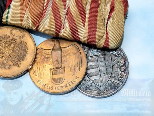 GERMANY - MEDAL BAR - FIVE PLACE - Imperial German Military Antiques Sale