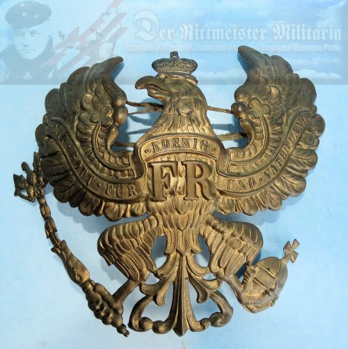 PRUSSIA - WAPPEN - OFFICER - LINE INFANTRY REGIMENT/JÄGER BATTALION/M.G. ABTEILUNG/LINE ULANEN REGIMENT/LINE ARTILLERY/LINE TRAIN BATTALION - Imperial German Military Antiques Sale