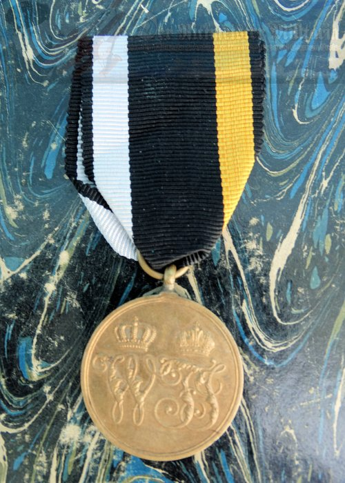 PRUSSIA - WAR MEDAL - DANISH WAR OF 1864
