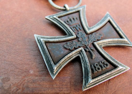 PRUSSIA - IRON CROSS - 1813 - 2ND CLASS - PRINZENGROßE - Imperial German Military Antiques Sale