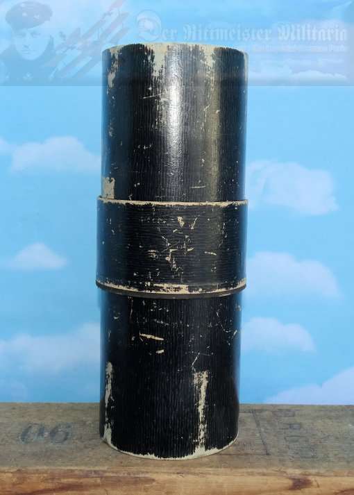 GERMANY - PARADE BUSH AND TRICHTER STORAGE CASE - PARTIAL NOT COMPLETE - Imperial German Military Antiques Sale