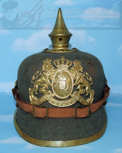 BAVARIA - PICKELHAUBE / SPIKED HELMET - ENLISTED MAN  - ERSATZ