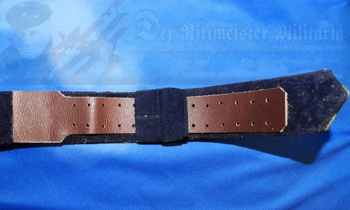 PRUSSIA - BELT AND BUCKLE - OFFICER - BROCADE - Imperial German Military Antiques Sale