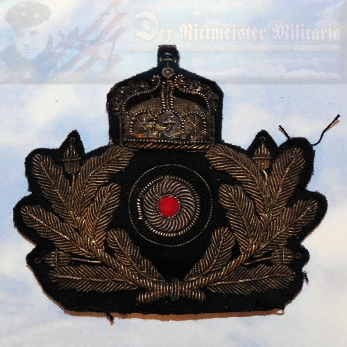 GERMANY - CAP BADGE - OFFICER - KAISERLICHE MARINE