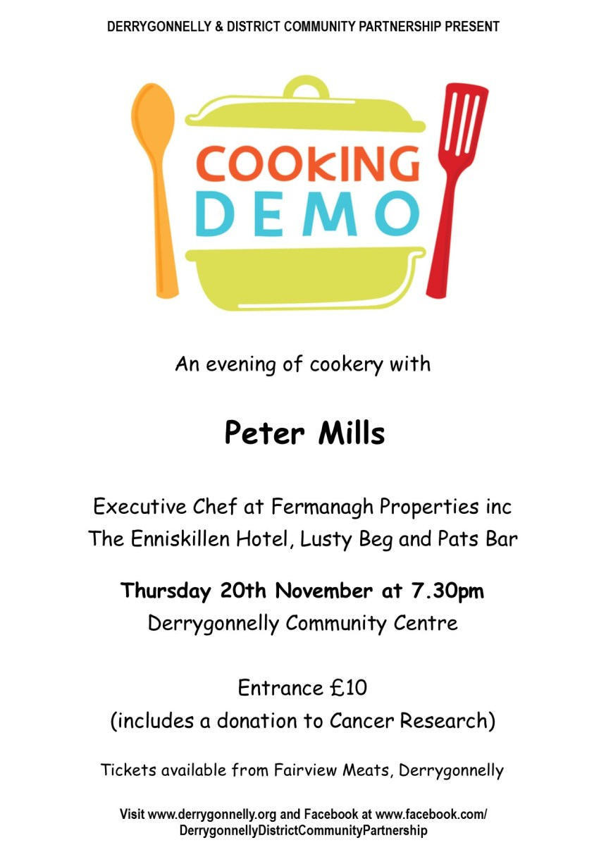 DDCP Cookery demo NOV14