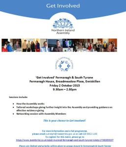 Get Involved Fermanagh & South Tyrone Invite
