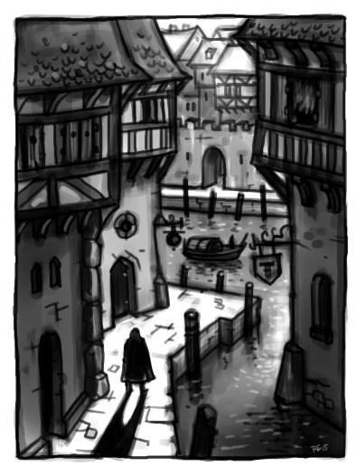 Die Stadt Tausendbrücken Illustration: Rudy Eizenhöfer