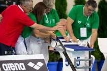 9.7.2016: Hódmezővásárhely. Rückenstarthilfe-Tutorial während der Finals.