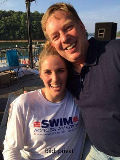 17.9.2016, Atlanta: Swim accross America event - open water. Missy Franklin (li).