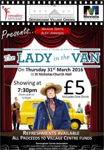 poster for the film the lady in the van