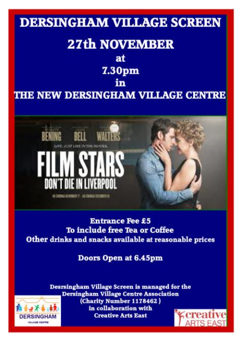 poster for november village cinema