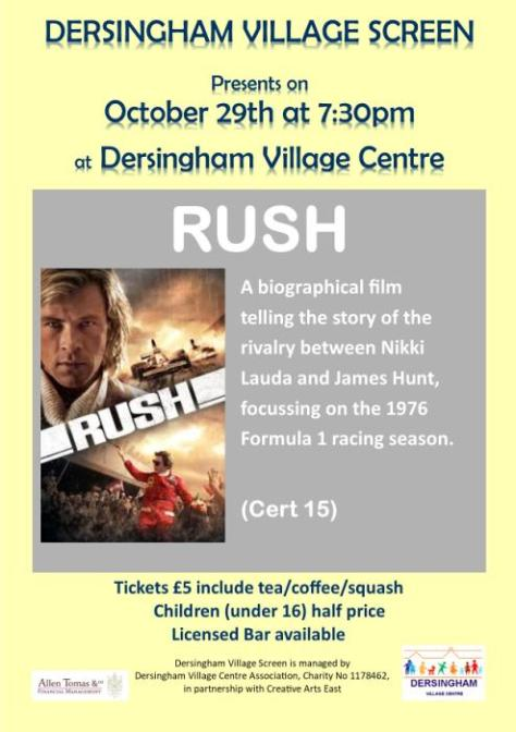 poster for film rush