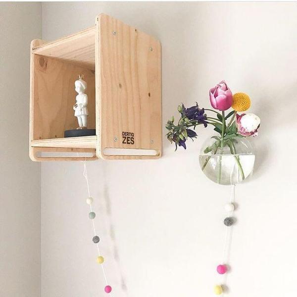 Maak je kamer compleet met dit leuke Wandkastje   DertigZes