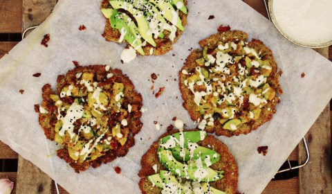 Mini-Falafelpizza