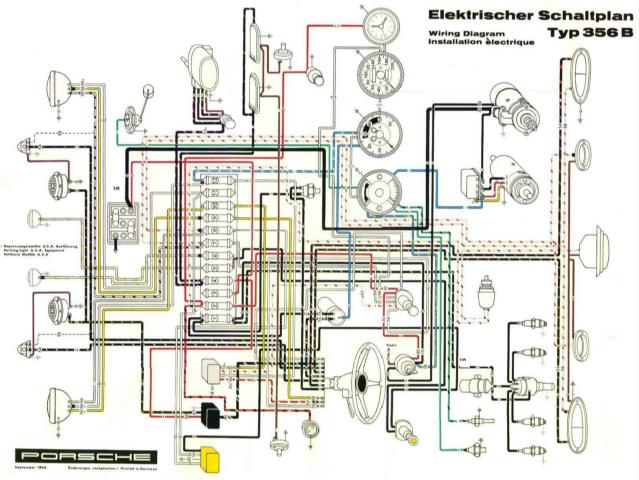 1955 porsche wiring diagram  wiring diagram diodesteela