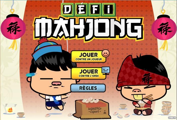 Jeu Défi Mahjong Multijoueur