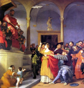 Lorenzo Lotto - Santa Lucia davanti al giudice