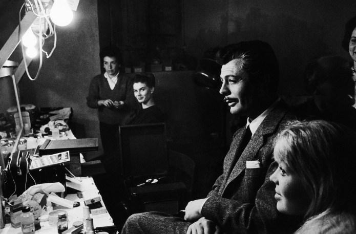La Dolce Vita, 1960. Uno dei capolavori immortali di Federico Fellini. Con Marcello Mastroianni e Anita Ekberg.