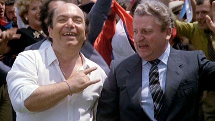L'allenatore nel pallone è un cult del 1984 diretto da Sergio Martino e interpretato da Lino Banfi, Andrea Roncato e Camillo Milli.
