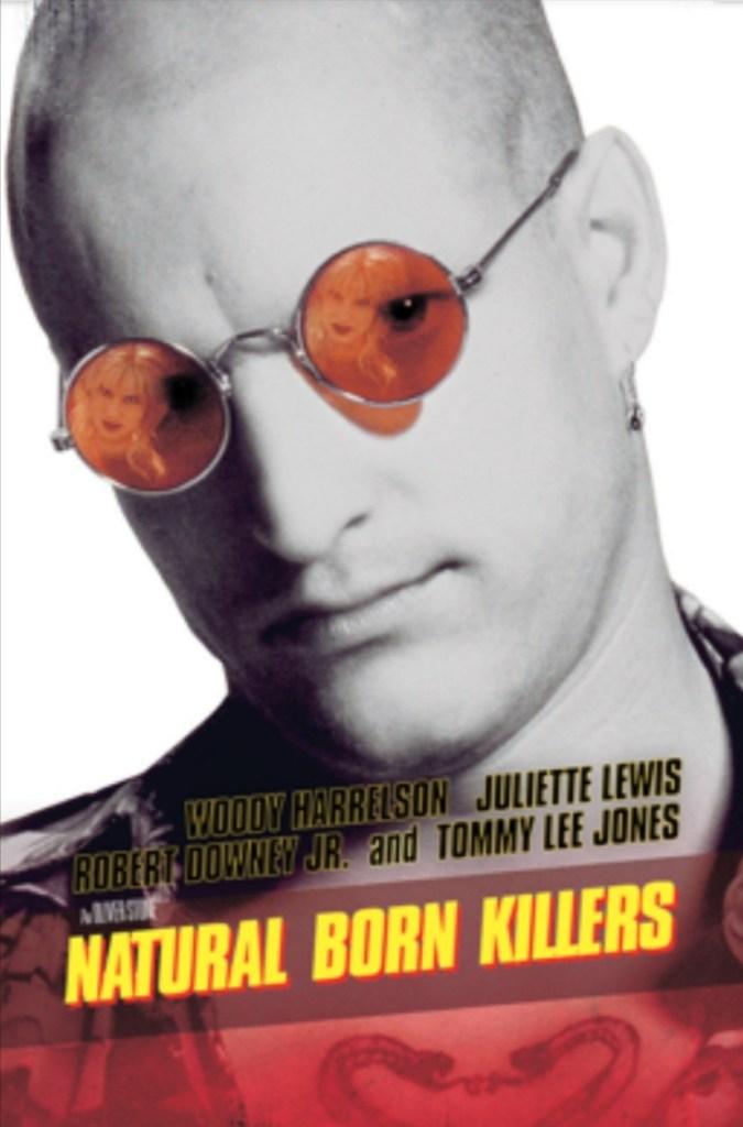 La locandina di Natural Born Killers di Oliver Stone (1994)
