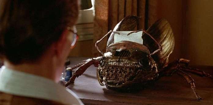 Il Pasto Nudo, 1991, film diretto da David Cronenberg e tratto dal romanzo di William S. Burroughs. Con Peter Weller e Judy Davis.