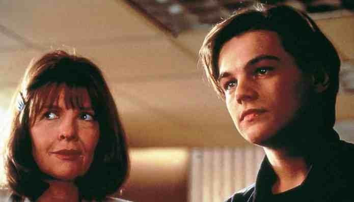 Leonardo Di caprio diovane attore con Diane Keaton in La Stanza di Marvin