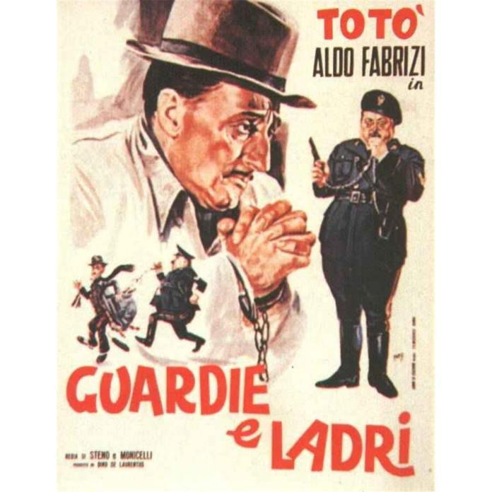 Guardie e ladri (1951), regia di Mario Monicelli e Steno.