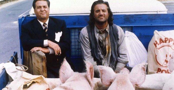 Ricky & Barabba (1992), diretto e interpretato da Christian De Sica assieme a Renato Pozzetto.