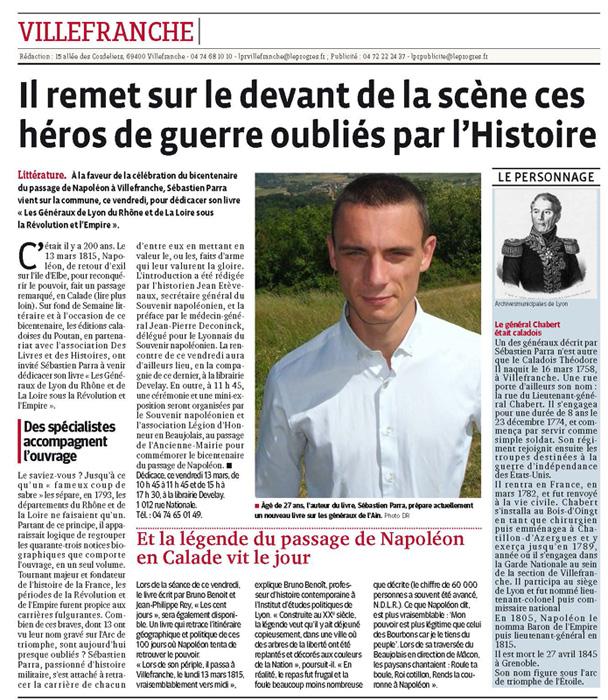 Sébastien Parra Le Progrès 12 mars 15