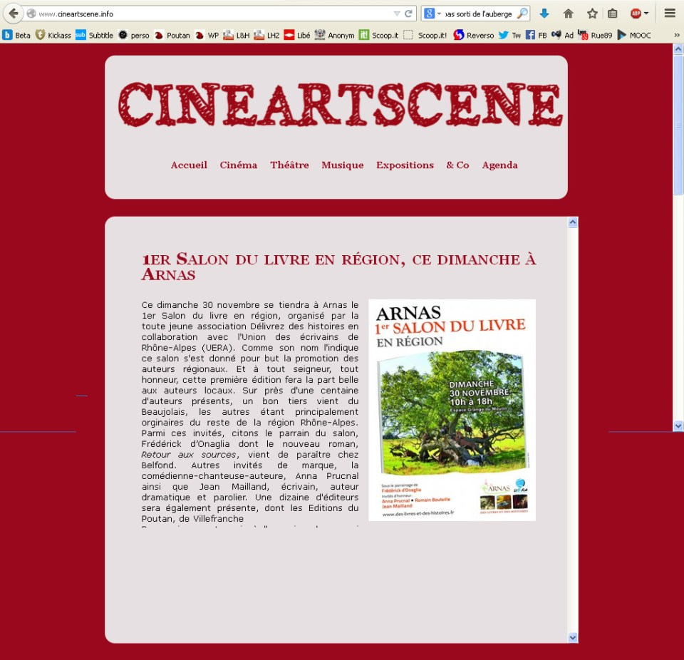 Cineartscene.info