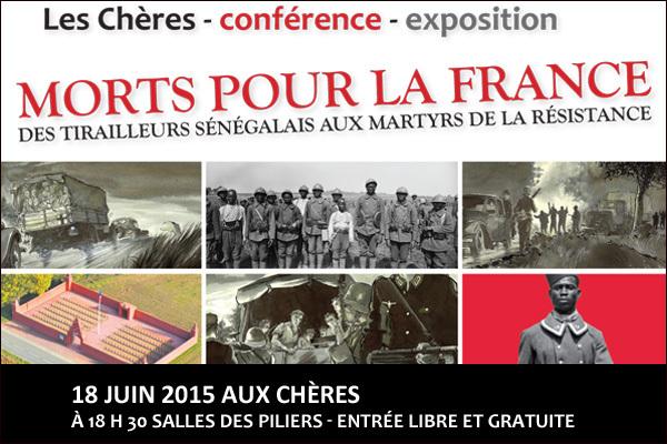conférence expo : morts pour la france