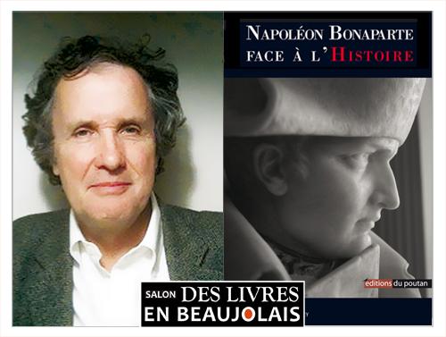 Bruno Benoit au 3e salon Des Livres en Beaujolais