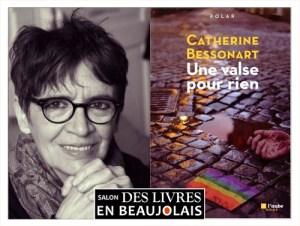 Catherine Bessonart invitée du 3e salon Des Livres en Beaujolais