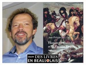 Jean-Philippe Rey invité du 3e salon Des Livres en Beaujolais