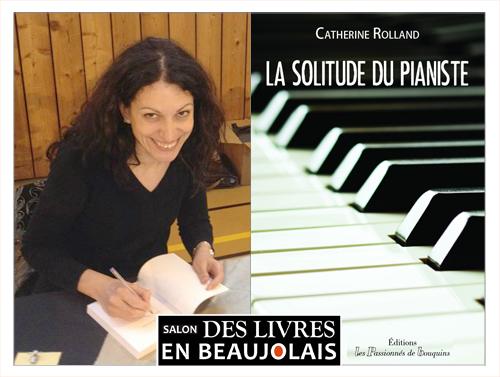 Catherine Rolland invitée du 3e salon Des Livres en Beaujolais