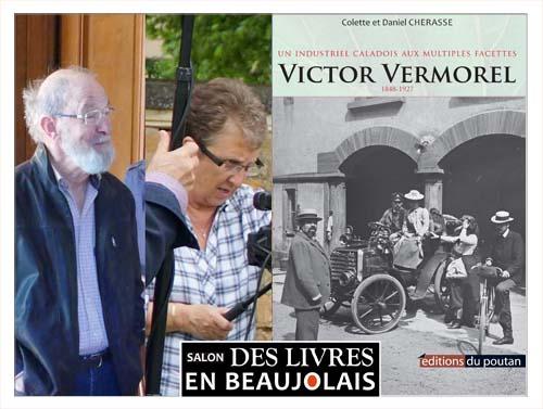 Colette et Daniel Chérasse invités du 3e salon Des Livres en Beaujolais