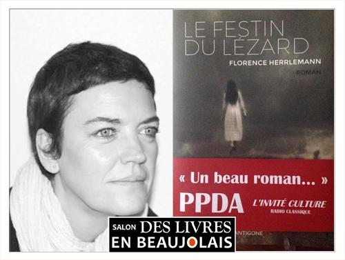 Florence Herrlemann invitée du 3e salon Des Livres en Beaujolais