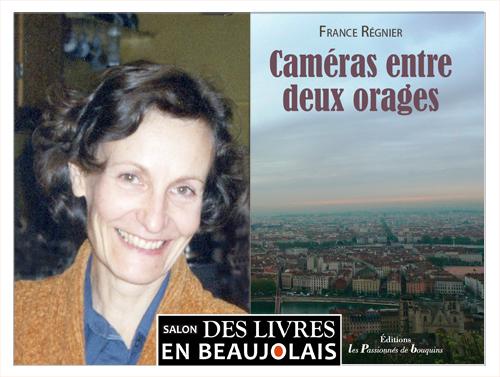 France Régnier invitée du 3e salon Des Livres en Beaujolais