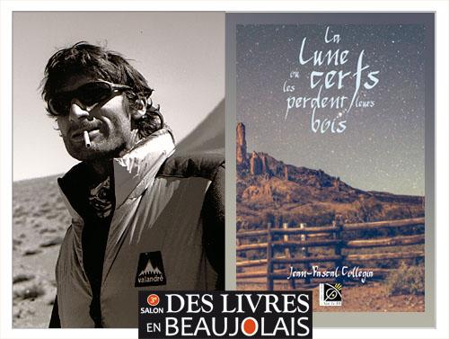 Jean-Pascal Collégia invité du 3e salon Des Livres en Beaujolais