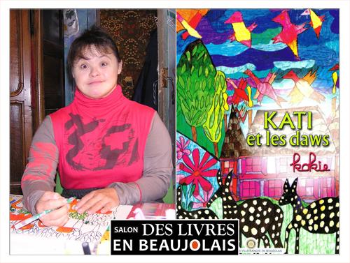 KOKIE invitée du 3e salon Des Livres en Beaujolais