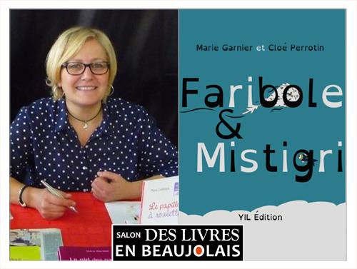 Marie Garnier invitée du 3e salon Des Livres en Beaujolais