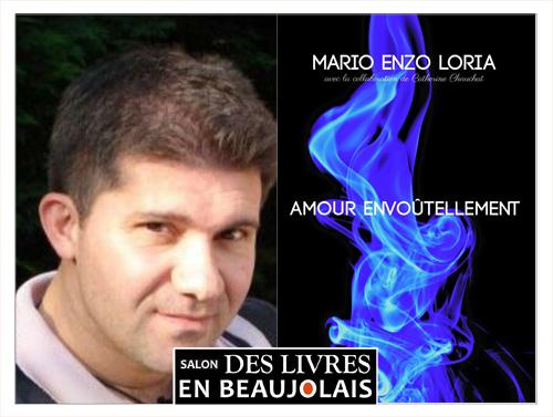 Mario Enzo Loria invité du 3e salon Des Livres en Beaujolais