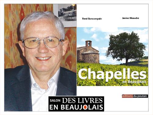 René Boncompain invité du 3e salon Des Livres en Beaujolais