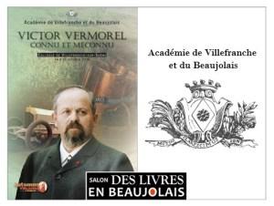 Académie de Villefranche et du Beaujolais - 3e salon Des Livres en Beaujolais