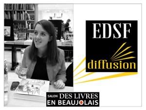Sixtine de Beaufort - EDSF-Diffusion - 3e salon Des Livres en Beaujolais