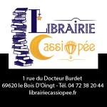 La librairie Cassiopée - Partenaire salon Des Livres en Beaujolais