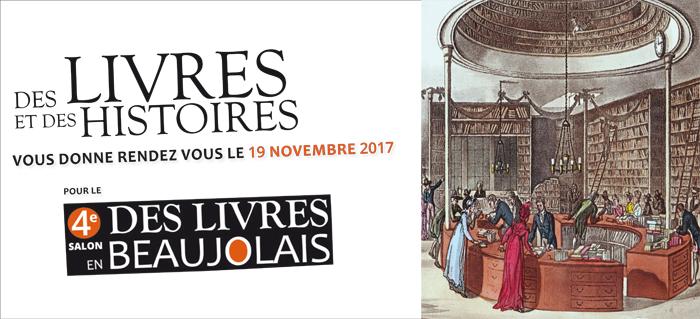 4e salon Des Livres en Beaujolais - 19 novembre 2017