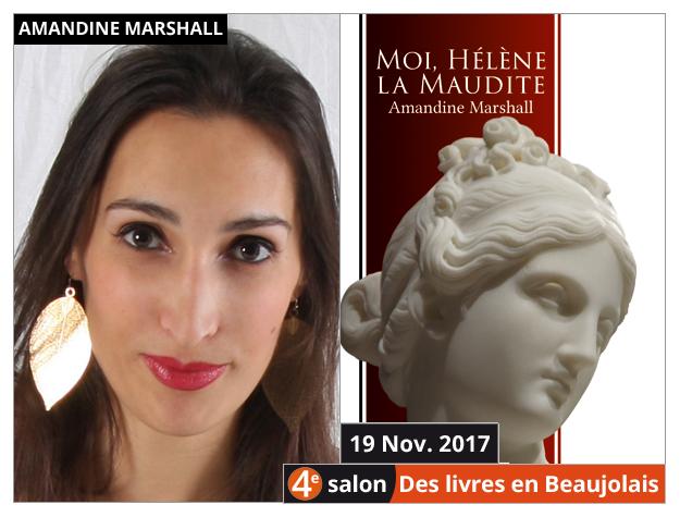 Amandine Marshall invitée du 4e salon Des Livres en Beaujolais