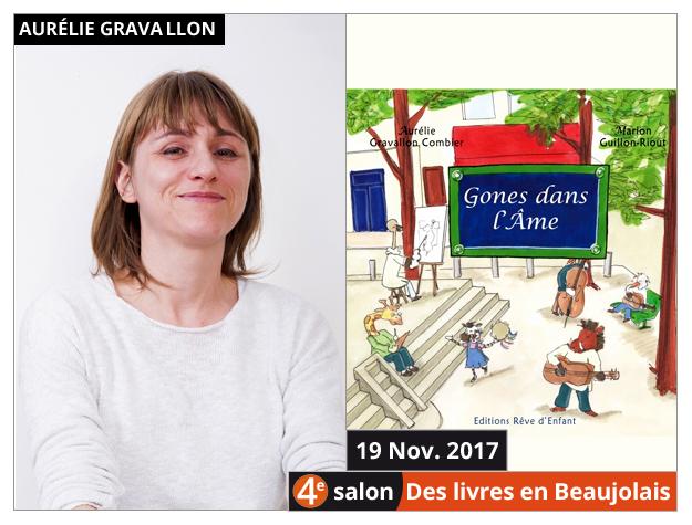 Aurélie Gravallon Combier invitée du 4e salon Des Livres en Beaujolais